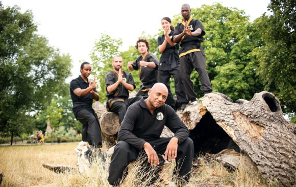 Wing Chun in the park